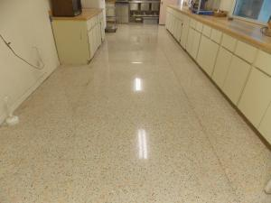 Safe Dry From vinyl tile to terrazzo restoration