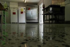 Safe Dry Terrazzo Restoration cleaning