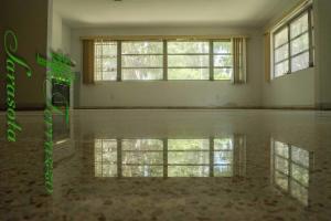 Terrazzo Floors in a Florida mid century modern home.
