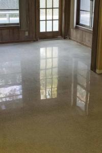 Dry Polished Terrazzo Floors