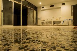 Antique terrazzo floor restoration by SafeDry