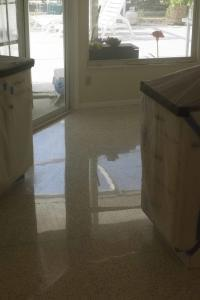 Terrazzo Restoration done in Englewood Florida