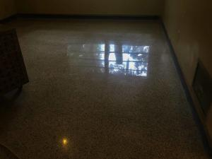 Terrazzo Floor polished to a shine by SafeDry technicians