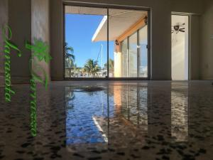 Diamond Polished Terrazzo flooring
