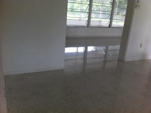 Terrazzo Restoration Before and after Englewood Florida