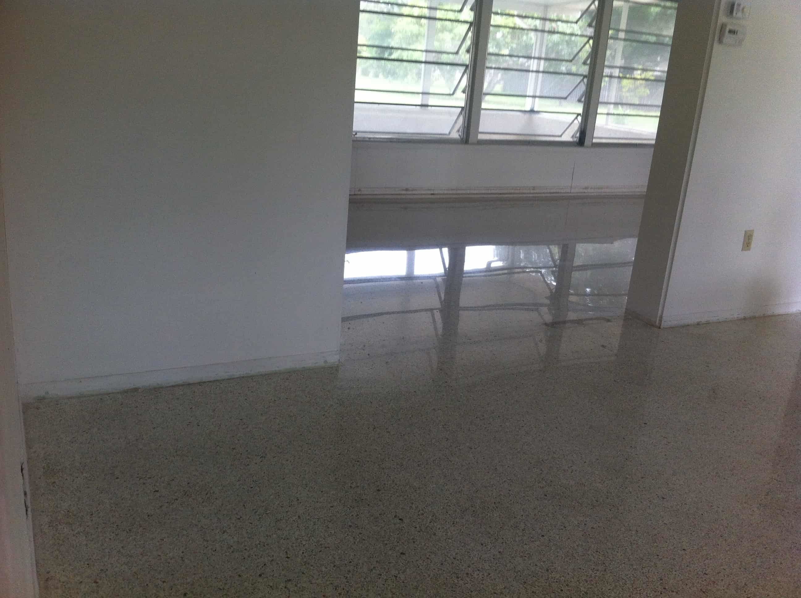 Terrazzo Restoration Before And After Terrazzo