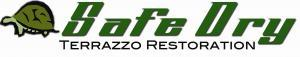 Terrazzo Restoration Logo from Safe Dry