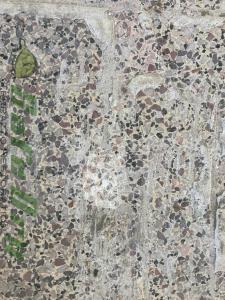 Terrazzo floor tile removal