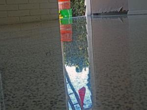 Terrazzo Restoration after polishing
