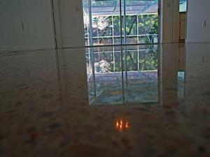 SafeDry Terrazzo Restoration diamond polished this floor in North Port Florida