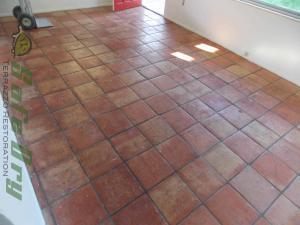 Tile vs terrazzo restoration saltillo tile
