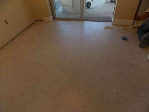 This is Marco Island Terrazzo before being restored.