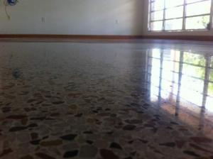 Terrazzo Restoration done by SafeDry terrazzo restoration in Englewood