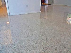 terrazzo restoration north port done with all dry diamonds
