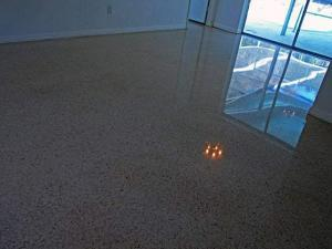 terrazzo restoration done with all dry diamonds
