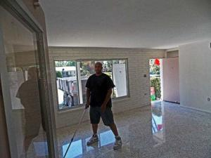 terrazzo restoration after cleanup