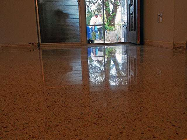 Terrazzo Restoration Cape Coral Florida by SafeDry