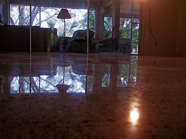 Polished Terrazzo Floor in Cape Coral