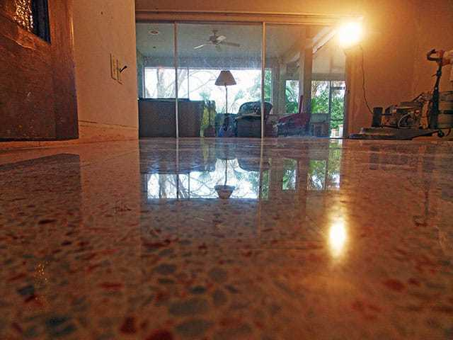 Terrazzo Restoration Cape Coral done by SafeDry